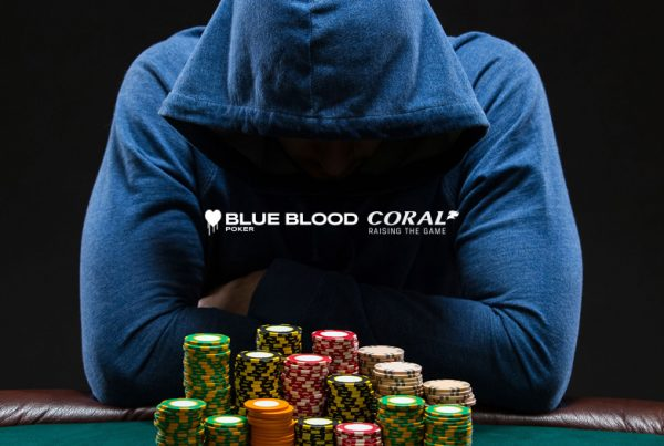 Blue Blood Poker - WordPress Website Design